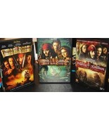 DVD - Pirates of the Caribbean Trilogy (Curse of the Black Pearl / Dead Man's Ch - $29.94