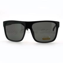 All Black Sunglasses Classic Square Fashion Shades for Men and Women - $9.85