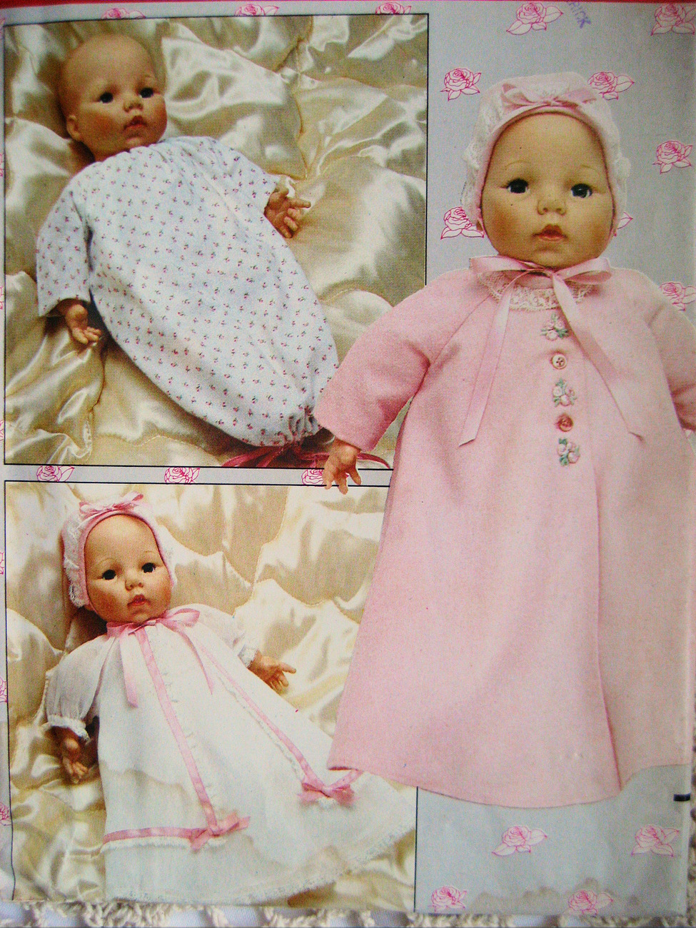 Butterick 254 4638 Unused Baby Doll Clothes Pattern 18