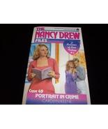 Nancy Drew Mystery paperback 'Portrait in Crime' - $8.59