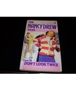 Nancy Drew Mystery paperback 'Don't Look Twice' - $8.59
