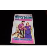 Nancy Drew Mystery paperback 'Make no Mistake' - $8.59