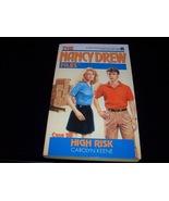 Nancy Drew Mystery paperback 'High Risk' - $8.59
