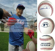 Shin-Soo Choo Texas Rangers Indians Reds Autographed Signed Baseball Pro... - $77.58