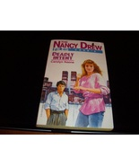 Nancy Drew Mystery paperback 'Deadly Intent' - $8.59