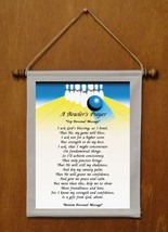 A Bowler's Prayer - Personalized Wall Hanging (775-1) - $18.99