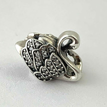 Authentic Pandora Majestic Swan Sterling Silver Charm, 791732CZ, New - $62.69