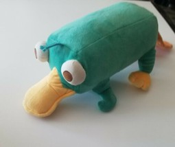 MC Perry the Platypus Disney Large Stuffed Plush Toy Phineas and Ferb So... - $14.99