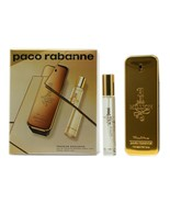 PACO RABANNE 1 MILLION 2 PIECE TRAVEL SET EAU DE TOILETTE SPRAY 100ML NIB - $63.86