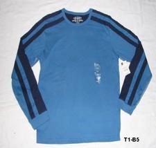 ARIZONA Size Large Blue Long sleeve Tee Shirt NWT - $19.99