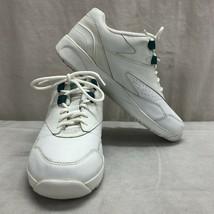 Easy Spirit Women's White Leather Walking Shoes Sz 7.5B - $18.47