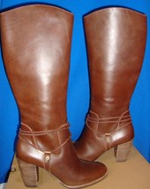 UGG Australia Women's NEOMA Brown Tall Leather Boots Size US 9,EU 40 NEW 1008623 - $115.55