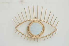 Iron EYE With Mirror For Wall Décor - $35.00