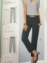 Burda Sewing Pattern 6689 Misses Ladies Pants Size 10-20 New - $13.43