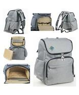 Stylish Masculine Diaper Bag Unisex Laptop Backpack Insulated Pockets Ve... - $29.54