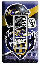BALTIMORE RAVENS FOOTBALL TEAM 1 GFCI LIGHT SWITCH WALL PLATE MANCAVE RO... - $9.89