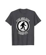 Dad Shirts - Bigfoot T Shirt HIDE SEEK CHAMPION Pajama BIRTHDAY GIFT Men - $19.95+