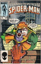 The Spectacular Spider-Man Comic Book #104 Marvel 1985 NEAR MINT UNREAD - $4.99