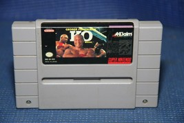 George Foreman's KO Boxing (Super Nintendo Entertainment System, 1993) SNES - $5.67