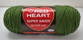 Red Heart Super Saver Worsted Medium Weight 4 Ply Yarn - 1 Skein Med Thyme #406 - $11.35