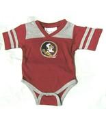 NCAA Florida State Seminoles Embroidered Logo Football Creeper Two Feet ... - $21.95