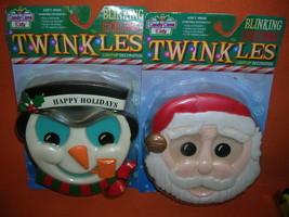 Monicore Inc Santa & Snowman Twinkles #8500  UPC:633018085006 - $11.88