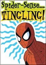 Marvel Comics Spider-Man Spider-Sense ... Tingling! Refrigerator Magnet UNUSED - $3.99