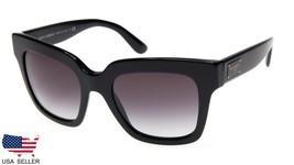 D&G Dolce & Gabbana DG4286 501/8G Black Sunglasses Glasses 51-20-140 B44mm Italy - $138.60