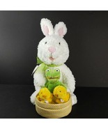 Hallmark Animated Easter Bunny Plush Frogs Chicks Lets Go To The Hop Wat... - $24.99