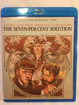 The Seven Percent Solution, 1976. Special Edition Blu-ray & DVD.  Region... - $12.00