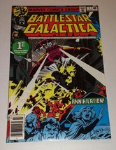 Stan Lee Presents Battlestar Galactica Comic #1 March 1978 Marvel - $6.00