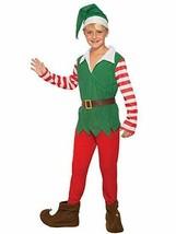 Forum Nouveautés Père Noël Helper Garçon Elfe Enfants Vacances Costume 80834 - $21.97