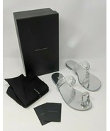 Giuseppe Zanotti  Crystal Embellished Toe Ring Sandal [Silver, Size 38, ... - $485.09