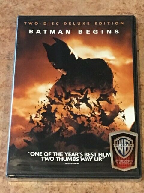 Primary image for Batman Begins (DVD, 2-Disc Special Edition) BRAND NEW / FACTORY SEALED