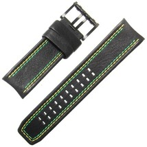 Luminox Tony Kanaan Valjoux 1188 26mm Black Watch Band Strap 1181 1148 1138 - $74.25