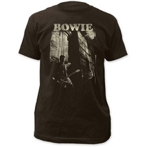 David Bowie Guitar Fitted Jersey T-Shirt - $23.98