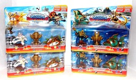 Skylanders Lot 2x Sea Racing Action pack and 2x Sky Racing Action Pack B... - $15.81