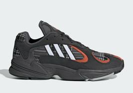 Adidas Yung 1 Zapatos Hombre Sólido Gris & Ámbar Zapatillas - $144.34