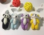 Kawaii small joint panda bear stuffed plush toys small phone pendant diy toy panda thumb155 crop