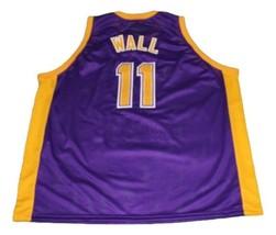 John Wall #11 Holy Rams High School Basketball Jersey New Sewn Purple Any Size image 5