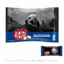 Japanese Kitkat Nestle Chocolates Save the Blue Ocean Pack 11 bars From ... - $14.28