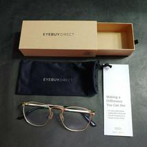 EyeBuyDirect Eyeglass Frames ONLY w/ Pouch, St Michel, 51-19-145 - $19.52