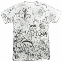 Authentic Grim Adventures of Billy & Mandy Brawl Cartoon Network T-shirt... - $17.99
