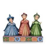Non Metal Disney Traditions Three Fairy Godmothers Figurine (Length=8) [... - $52.91