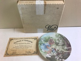 """VILETTA  STOP AND SMELL THE ROSES BY RUSTY MONEY 8.5"""" COLLECTOR PLATE   ... - $18.37"""