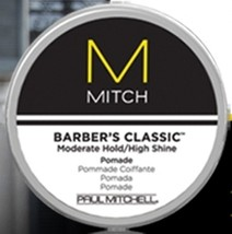 Paul Mitchell MITCH Barber's Classic Moderate Hold/High Shine Pomade 3oz - $27.00