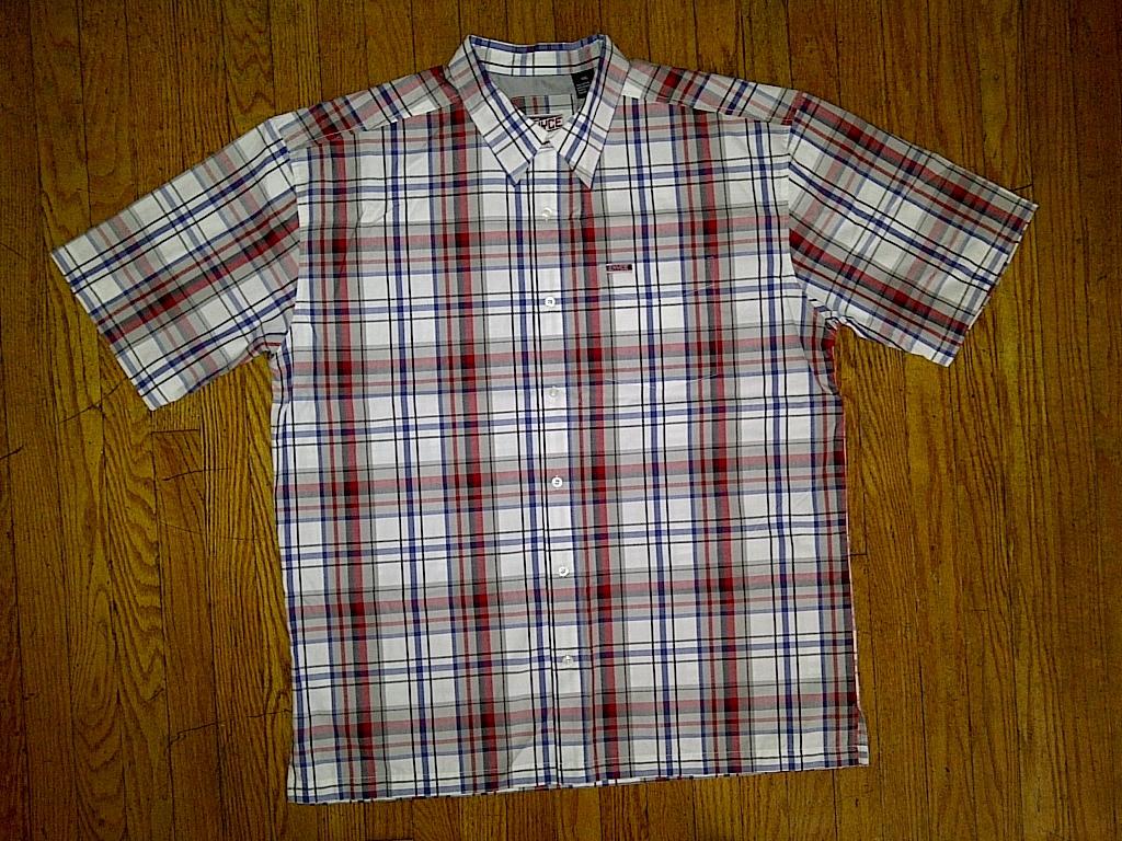Enyce Hip Hop Urban White/Blue/Red/Gray/Black Button Down Front Shirt 2xl XXL 2x