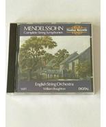 Felix Mendelssohn: Complete String Symphonies, Vol. 1 (CD, 1988, Nimbus) - $4.99