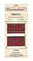 Piecemaker Tapestry Fine Sewing Needles Size 22 - $7.16