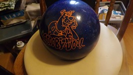 3#   Undrilled Hanna Barbera Scooby Doo LB  Bowling Ball Blue deep space... - $108.89